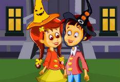 Игра Поцелуи на Хеллоуин