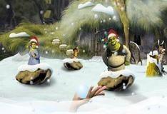 Игра Снежки со Шреком