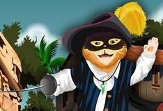 Игра Новый прикид Кота в сапогах