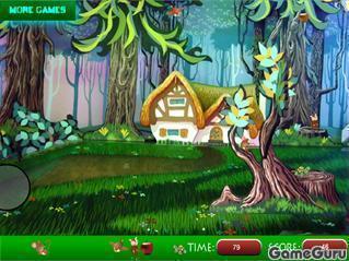 Игра Спрятанные вещи: лес