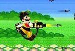 Играть бесплатно в Марио защита от пчел