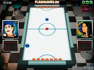 Игра Аэро хоккей: мировой турнир