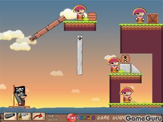 Игра Пиратская пушка