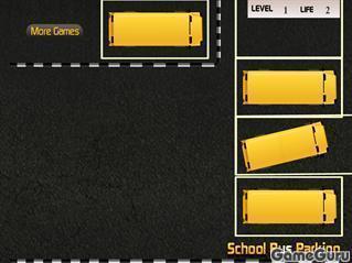 Игра Автобус: парковка