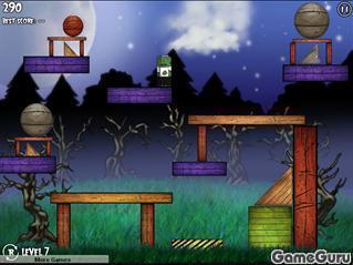 Игра Зомби в ловушке