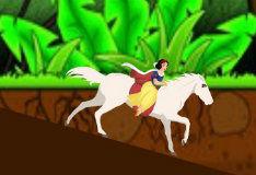 Игра Барби: кататься на лошади