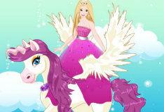 Игра Барби: волшебство Пегаса