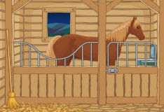 Игра Выход из конюшни