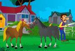 Игра Влюбленные лошадки