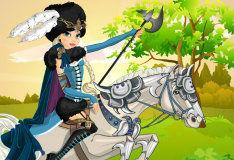 Игра Наездница-воительница