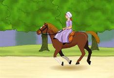 Забег на лошади