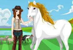 Игра Хозяйка и ее конь