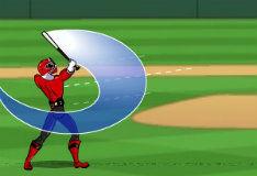 Игра Рейнджеры играют в бейсбол