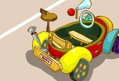 Игра Крош строит автомобиль