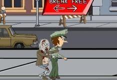 Игра Полицейский против зомби