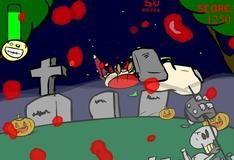 Игра Зомби на Хеллоуин