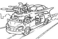 Раскраска: Микроавтобус