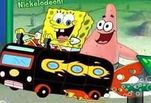 Спанч Боб на автобусе