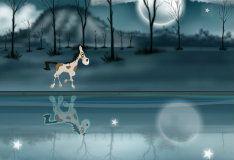 Игра Лошадь на льду