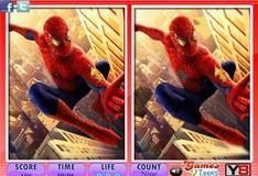 Игра Отличия с человеком-пауком