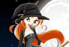 Красивая ведьмочка