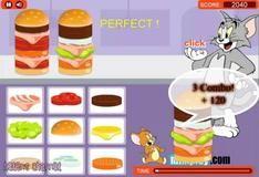 Игра Гамбургеры для Тома