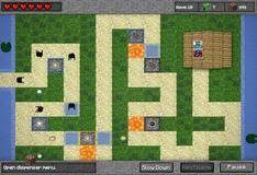 Игра Minecraft TD