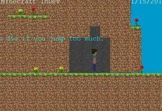 Игра Minecraft 2D