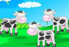 Игра Учимся считать с коровками