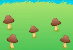 Игра Считаем грибы на поляне