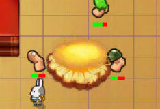 Игра Bunny Flags 2