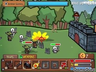 Игра Siege knight