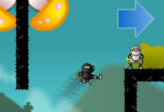 Игра Sticky Ninja Academy