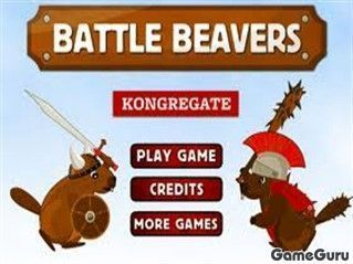 Игра Battle Beavers