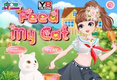 Игра Накормите моего котика