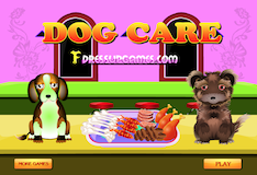 Игра Уход за собакой