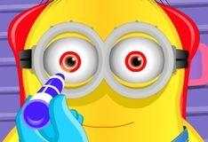 Игра Миньон на приеме у офтальмолога