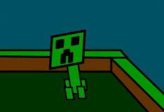 Игра Майнкрафт: Танец крипера