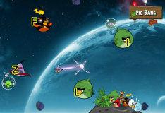 Игра Злые птички в космосе: набор букв