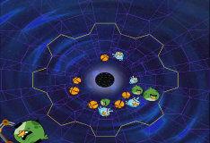 Игра Злые птички в космосе: пространственно-временной туннель