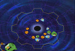 играйте в Angry Birds Space Wormhole