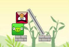 Игра Злые птички: долой свинок