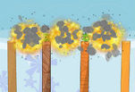 играйте в Angry Birds Bomb