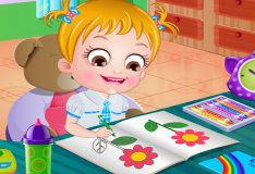 Малышка Хейзел в школе