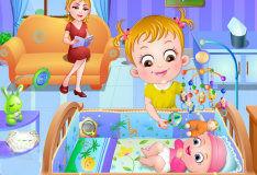 Игра Малышка Хейзел и её новорождённый брат
