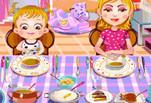 Малышка Хейзел: правила поведения за столом