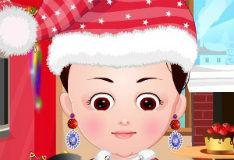 Игра Рождественский наряд малышки Ханы