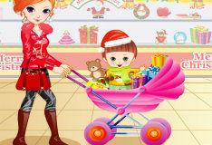 Игра Для девочек: за покупками