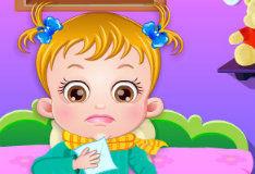 Игра Малышка Хейзел заболела