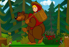 Игра Маша и медведь